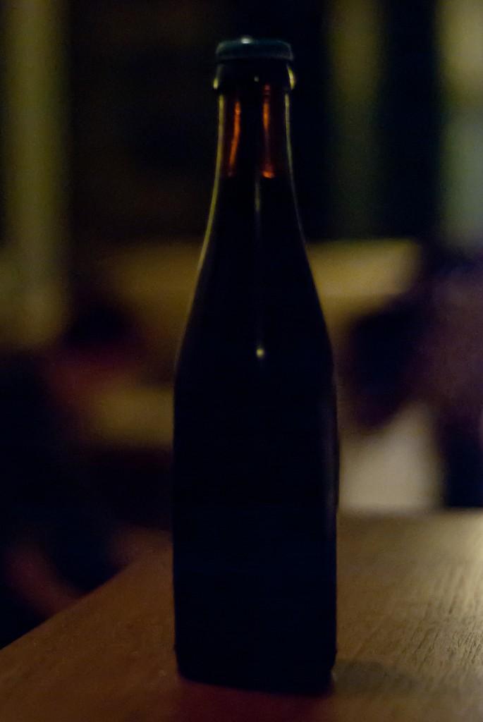 Trappist Westvleteren beer bottle