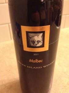 Pelle Island Winery Malbec